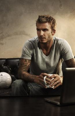 Para fechar essa galeria, claro, David Beckham...