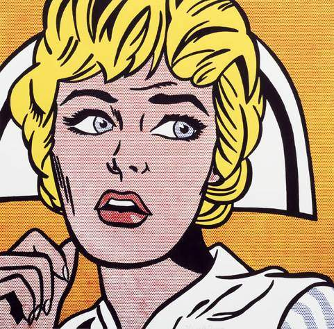 Nurse, de Roy Lichtenstein