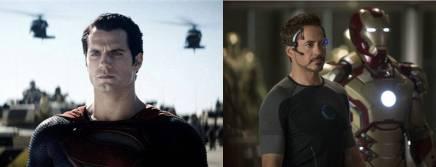 Homens de aço (ou de ferro). Qual super-herói você querser?
