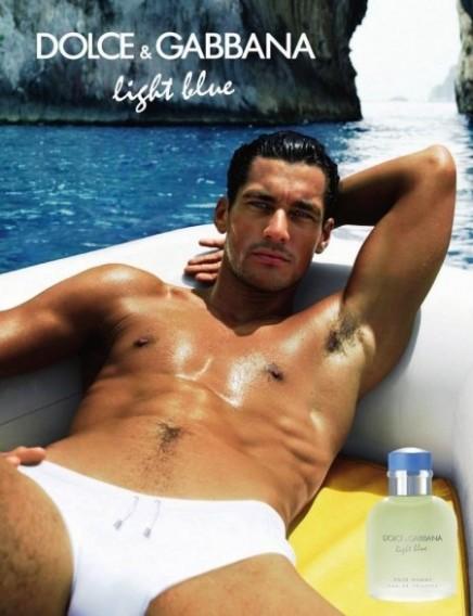 David Gandy é o novo rosto de Light Blue, da Dolce &Gabbana