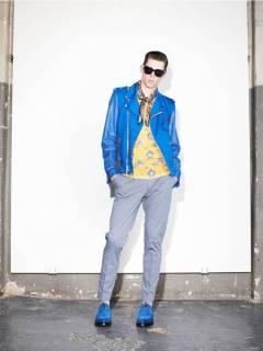 04 _ Sapato masculino colorido Marc Jacobs _ Verão 2014