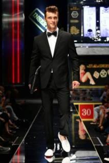 05 _ Sapato masculino com tachas Philipp Plein _ Verão 2014