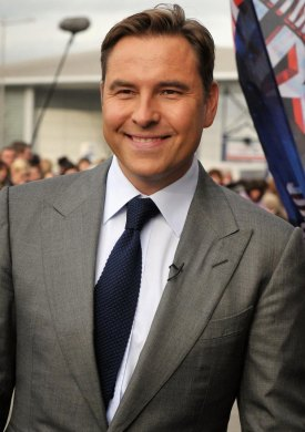 O comediante David Walliams
