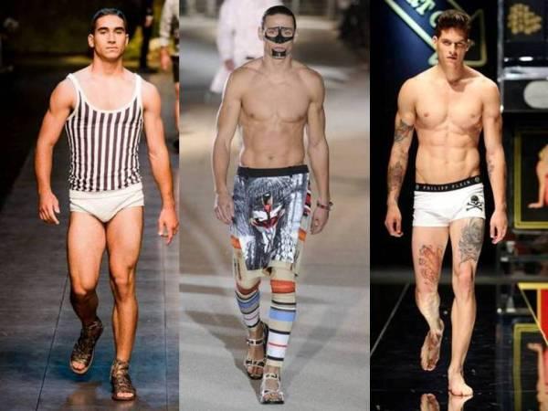 Os sarados da Dolce & Gabbana, da Givenchy e da Phillipp Plein