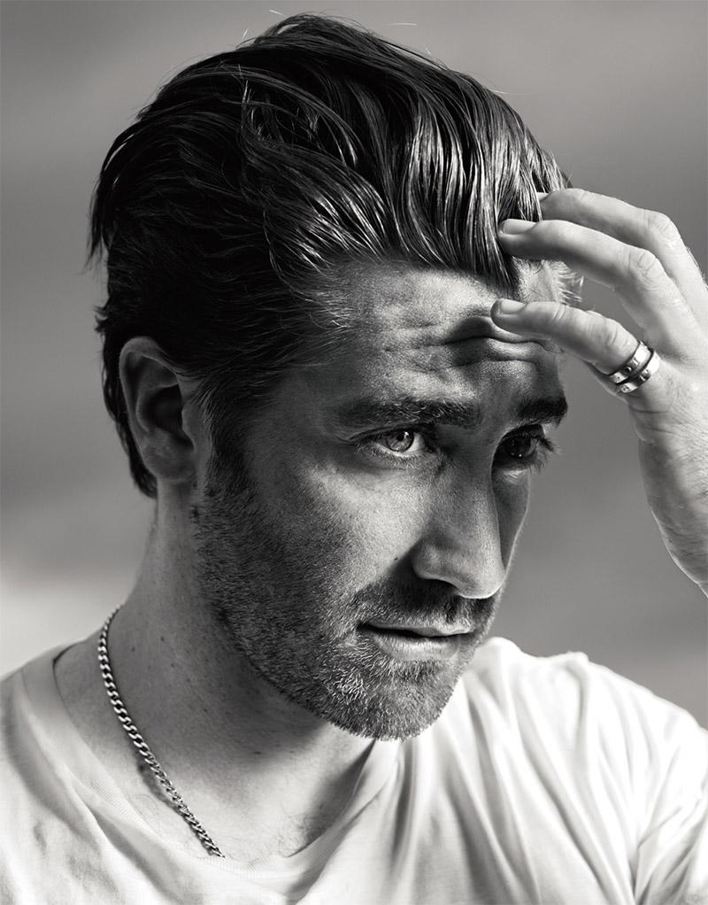 Jake Gyllenhaal e Hedi Slimane na VMan