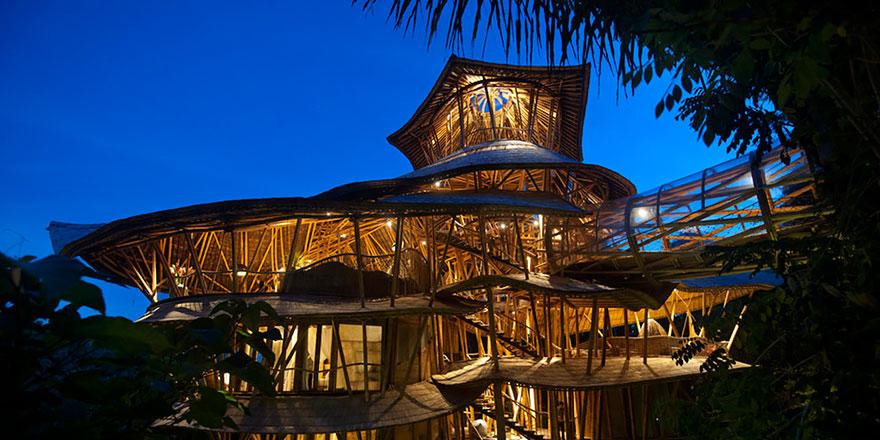 Casa sustentável Bambu Elora Hardy 08