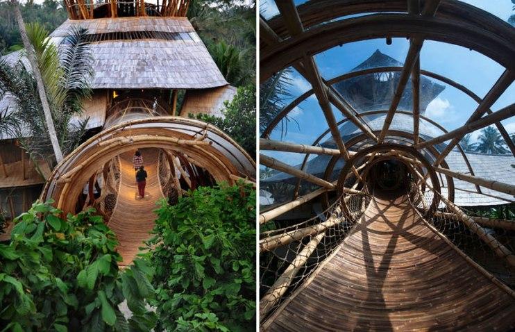Casa sustentável Bambu Elora Hardy 12
