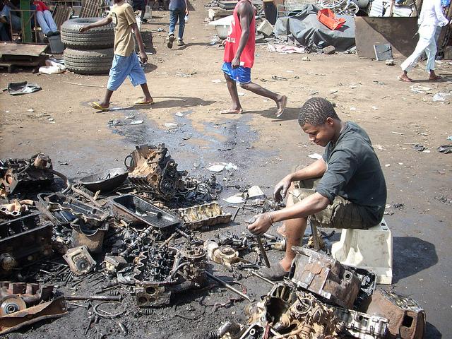 Agbogbloshie _ Crédito da foto Blacksmith Institute _ Pure Earth _ 01