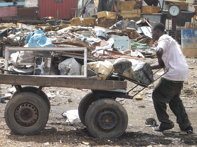 Agbogbloshie _ Crédito da foto Blacksmith Institute _ Pure Earth _ 06